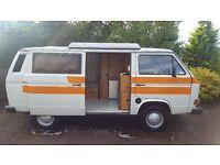 VW Transporter T25 LHD Campervan