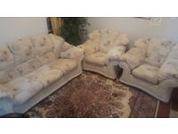 Very comfortable 3 seater sofa + 2 single sofa set
