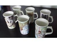Royal Norfolk Cat Cups/Mugs £5