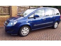 7 SEATER 2009 VAUXHALL ZAFIRA LIFE MPV 69000 MILES,FULL SERVICE HISTORY,FAULTLESS DRIVE,BARGAIN BUY.