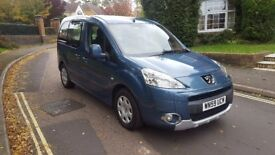 2009 PEUGEOT PARTNER TEPEE 1.6 HDI BLUE 1 PREVIOUS OWNER SERVICE HISTORY 12 MONTHS MOT
