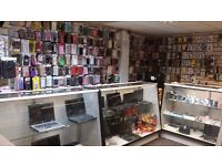 mobile & computer shop stock for sale