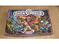 Dark World board game - box and spares