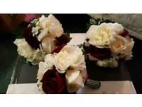 3 x wedding bouquets