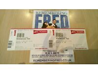 X2 tickets for Remembering Fred at the Princess theatre