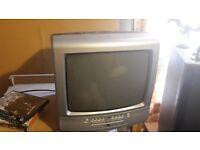 """14"""" portable TV DVD combo"""