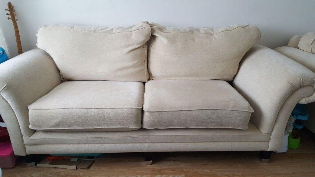 2 and 1 seater sofa x con.