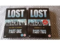 Lost dvd's Series One Part 1&2