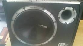 """12"""" VIBE BLACKAIR 1600W ACTIVE SUBWOOFER WITH BOX"""