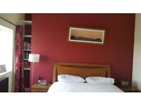 Dark Oak King Sized Bed, Horsforth, Leeds