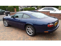 2001 JAGUAR XK8 COUPE BLUE Dual Fuel (LPG / Petrol)