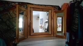 3 way swivel mirror John Lewis