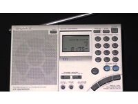 SONY ICF-SW7600GR FM/MW/LW/SW World Band Receiver NEW, RADIO