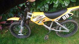 Boys Halfords Moto Bike MXR450