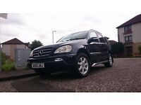 MERCEDES ML 270 CDI BLUE 4X4 AUTOMATIC SUV GREAT CONDITION -May Swap )