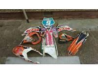 Full set ktm 85 2013 - plastics