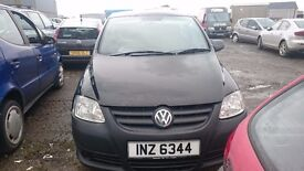2006 VOLKSWAGEN FOX 55, 1.2 PETROL, BREAKING FOR PARTS ONLY, POSTAGE AVAILABLE NATIONWIDE