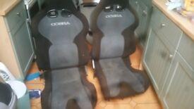 Cobra reclinging seats