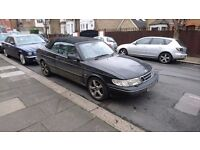 SAAB 900S 2.0 PETROL - MANUAL - CONVERTIBLE - MOT - SERVICE HISTORY - ALLOYS - 3 KEYS - DRIVES WELL