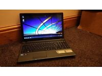 """ACER ASPIRE 5349, 15.6"""" HDMI, HD GRAPHICS, WIN 7, WIFI, DVDRW, EXCELLENT WORKING ORDER"""