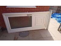 Back door UPVC plus frame