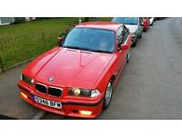 BMW 318is Msport e36 hellrot coupe