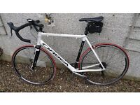 Orbea Aqua 27 speed with carbon forks