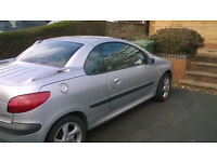 automatic peugeot 206 convertable SPARES / REPAIRS