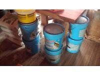 6x 20kg buckets external render mapei Silancolor Tonachino light green wetherproof italian