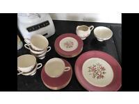 Vintage fine china tea set