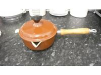 lavec 16 saucepan in brown