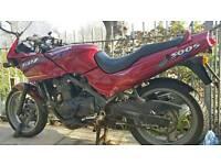 GPZ500S Kawasaki 500cc motorcycle