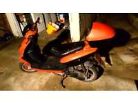 Direct bikes db50qt 50cc moped