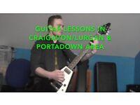 Guitar Lessons (CRAIGAVON/LURGAN & PORTADOWN)