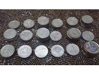 £1 coins. Rare £1 old coins.