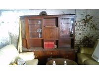 Wooden cabinet Free on collection - Birtley