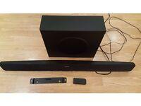 Philips HTS 3111 100w Soundbar & subwoofer