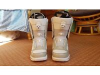 White Vans Snowboarding Boots
