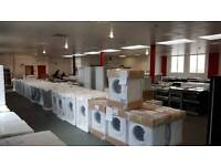 NEW EX DISPLAY AND GRADED WASHING MACHINES - DRYERS - DISHWASHERS FR £99 ALL WITH WARRANTY