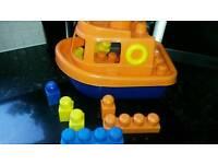 Megablocks boat