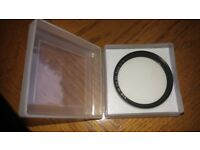 B+W Size 46 UV Filter! LIKE NEW!