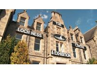 LOCH NESS CENTRE & EXHIBITION require a cleaner - permanent position.