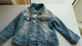 Baby girls denim jacket 18-24 months