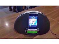 Pure Contour 100Di Dock for iPhone/iPad/Compatible iPods with DAB Digital/FM Radio
