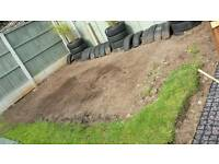 Tyres free, suit allotment or planter