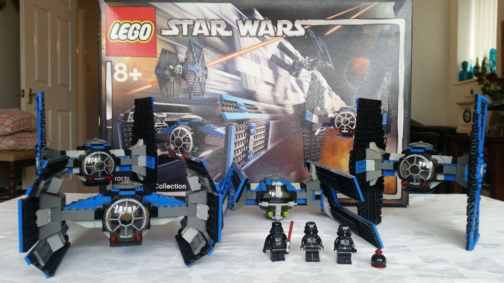 Star Wars Lego Set 10131 Tie Fighter Collection w/ Box and Mini Figures
