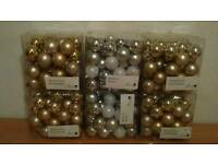 6 boxes of baubles each as 48 in each case