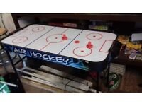 Air hockey table good condition not used anymore