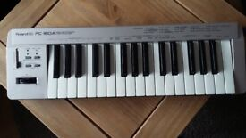 Roland 160A midi keyboard in 'as new' condition