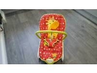 Little circus activity rocker